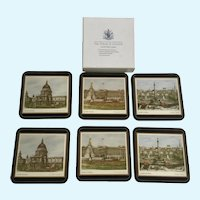 Vintage Pimpernel Drink Coasters London Scenes
