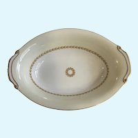 Laurel Fuji China Oval Serving Bowl Discontinued Pattern