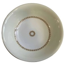 Laurel Fuji China Round Serving Bowl Discontinued Pattern
