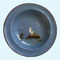 Dartmouth Pottery Devon England Seagull Hand Painted Bird Plate