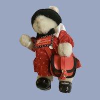 Hoppy Vanderhare Back To School Stuffed Plush Animal Bunny 1989