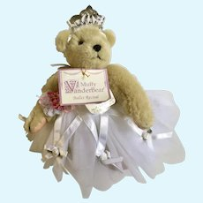 Muffy Vanderbear Ballet Recital Stuffed Teddy Bear Animal 1992