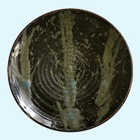 Pottery Forest Tree Art Pottery Design Plate