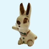 Rio Hondo Bunny Rabbit California Pottery Figurine (1930's-1950's)