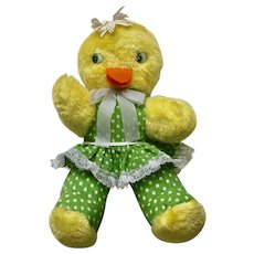 Mid-Century Knickerbocker Duck Animals Of Distinction Easter Ducky