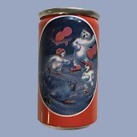 Polar Bear Coca-Cola Soda Can Miniature with Liquid 1997 Alpa