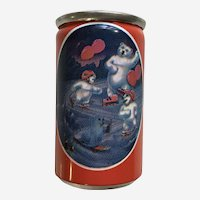Polar Bear Coca-Cola Soda Can Miniature with Liquid 1997 Alpa