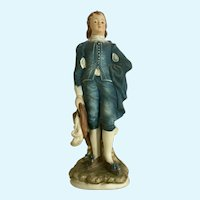 Lefton Blue Boy Limited Edition Ceramic Statuette