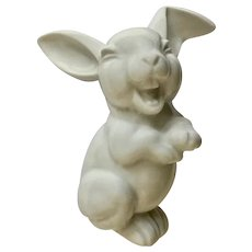 Silly Rosenthal Max Fritz's Laughing Bunny Rabbit Germany Figurine