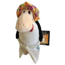 Dakin Opus Wet Phase Penguin Holliday Hotel Stuffed Plush Animal