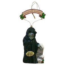 Ghost of Christmas Future A Christmas Carol Ornament Papel Freelance