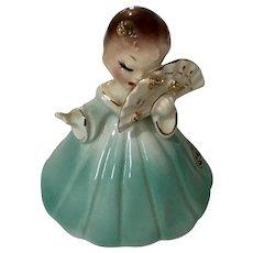 Josef Originals Girl Holding Fan Japan Figurine