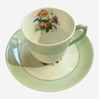 Colclough Bone China Cup and Saucer Longton England