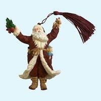 Hallmark Santa Claus Bringing Christmas Cheer Ornament 1998