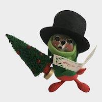 Annalee Christmas Caroling Mouse Stuffed Plush Animal Doll