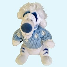 Tigger Snowflake Sweater Disney Store Exclusive Stuffed Plush Animal