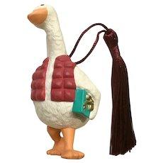 Hallmark Christmas Goose Ornament 1990