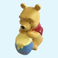 Disney Winnie The Pooh Bear Ceramic Coin Bank Park Lane