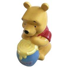Disney Winnie The Pooh Bear Ceramic Coin Bank Park Lane