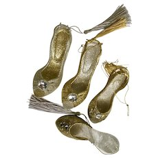 Kurt Adler Christmas Ornament Sparkle High Heel Shoes