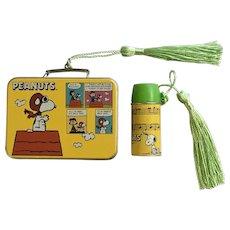 Hallmark Christmas Charlie Brown Peanuts Lunchbox Thermos Keepsake Ornaments