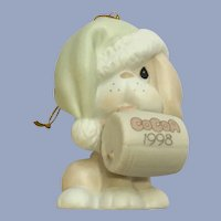 Puppy Dog Christmas Ornament Precious Moments Enesco Figurine