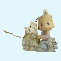 Precious Moments Twelve Days of Christmas 12 Drummers Drumming Ceramic Ornament