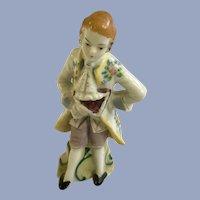 Occupied Japan Victorian Style Man Figurine