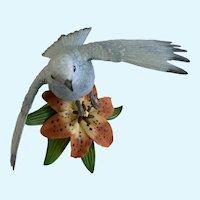 Lenox Mountain Bluebird Figurine Bird Garden Sculpture Collection