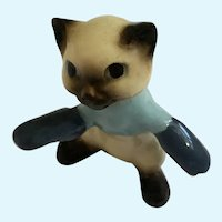 Hagen Renaker Three Little Kittens Found His Mittens Cat Figurine