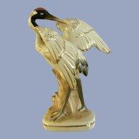 Occupied Japan Crane Bird Figurine