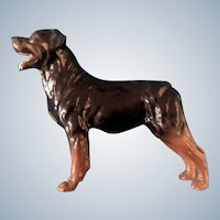 Royal Doulton Rottweiler Dog Figurine Discontinued DA 99