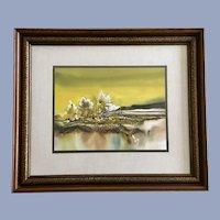 John L Mendoza, Watercolor Oil Painting Rural Landscape