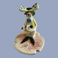 Zam Piva Clown Figurine Sewing Buttons Italy