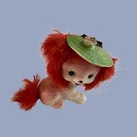 Adorable Bradley Fur Puppy Dog Figurine