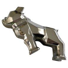 Vintage Chrome Mack Dog Truck Hood Ornament