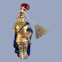 Department 56 Mark Antony Christmas Ornaments Blown Glass