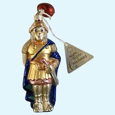 Department 56 Mark Antony Christmas Ornaments Blown Glass