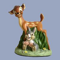 Bambi and Thumper Figurine Walt Disney Animated Characters