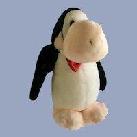 Dakin Opus Penguin Stuffed Plush Animal 1984