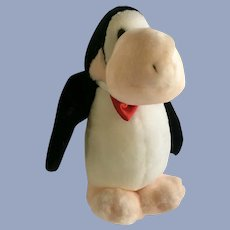 Dakin Opus Penguin Stuffed Plush Animal 1984