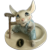 Hagen Renaker Mouse Farmer with Overalls and Shovel