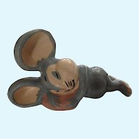Mouse Figurine Evan K Shaw Rosebud The Mouse Warner Bro. Ceramic American Pottery 1940's