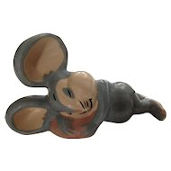 Evan K Shaw Mouse 1940's Rosebud The Mouse Warner Bro. Ceramic American Pottery Figurine