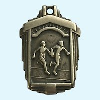 Running Sports 2nd Place Sprint Medley Relay Race 1944 Pendant