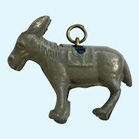 Vintage Early Plastics Donkey Jewelry Charm