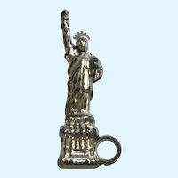 Vintage Early Plastics Statue of Liberty Jewelry Charm