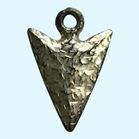 Vintage Indian Arrowhead Charm Early Plastics Jewelry
