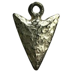 Vintage Indian Arrowhead Charm Early Plastics Jewelry