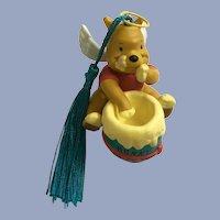 Disney Winnie the Pooh Angel with Honey Christmas Ornament